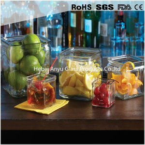 Mini Transparent Glass Juice Milk Jar Glass Soy Sauce Bottle pictures & photos