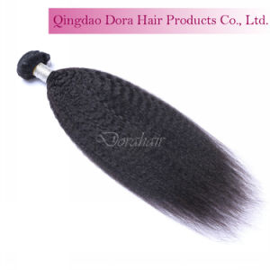 Yaki Wefted Hair Bundles Cuticle Remy Peruvian Virgin Human Hair Extension pictures & photos