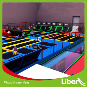 Customized Gymnastic Professional Factory Indoor Fitness Trampoline pictures & photos