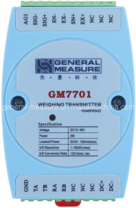 Weighing Transmitter Indicator (GM7701F1) by DIN Rail