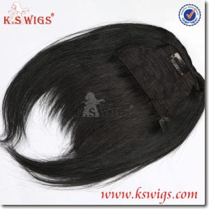 Top Quality Bang Hair Brazilian Virgin Remy Hair pictures & photos