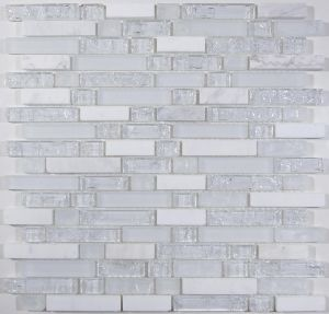 Ice Crack Glass and Stone Mix Mosaic for Mexico pictures & photos