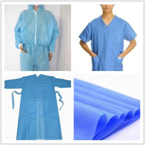 Non-Woven Fabric Suppliers for Surgical Gown pictures & photos