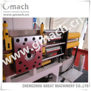 Plastic Extruders Auxiliary Machine Self Cleaning Back Flushing Continuous Screen Changer pictures & photos
