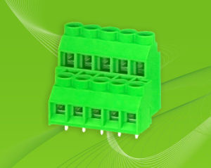 Screw Terminal Block with Dual Row Pin Header for Wire to Board pictures & photos