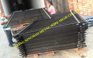 2000mmx2400mm Australia Black Colour Security Fence/Pool Fencing (XMS03) pictures & photos