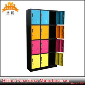 12 Door Steel Storage Bathroom Cabinet Closet Clothing Locker pictures & photos