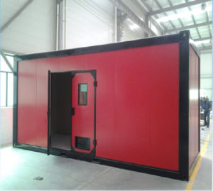 Fast Assemble Folding Container House with Security Window pictures & photos