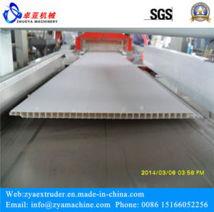 PVC Wall Covering Panel/Ceiling Board Profile Extruder Machine pictures & photos