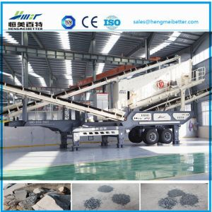 Construction Waste Jaw Crusher Mobile Station pictures & photos