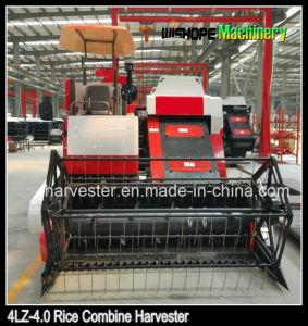 4.0kg Per Second Feeding Capacity Crawler Harvester for Rice, Wheat and Rape Seed pictures & photos