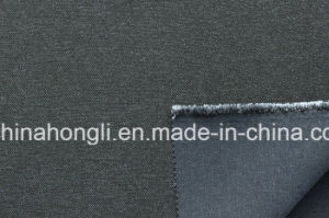 T/R/Sp Cationic, Polyester Fabric for Garment, Denim Look pictures & photos