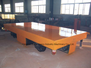 Cable Reel Powered Electric Flatcar for Hot Sale/ Kpj Flatcar Supplier/Manufacturer pictures & photos