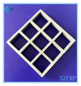 Molded Fiberglass Grating, FRP Mesh Grille, Grating Panel pictures & photos