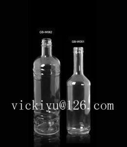 High Quality Glass Bottle Vodka Glass Bottle 500ml Liquor Bottle 500ml pictures & photos