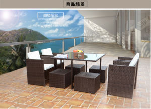 European Style Outdoor Rattan Sofa pictures & photos