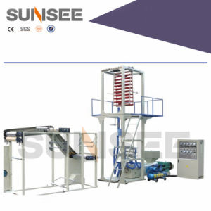 Automatic PE Film with Zipper Blowing Machine (CE) pictures & photos