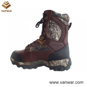 Long Wearing Waterproof Outdoor Military Hunting Boots (WHB006) pictures & photos