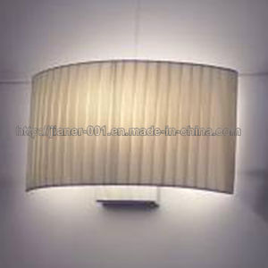 Yellow Fabric Shade Wall Lamps for Home pictures & photos