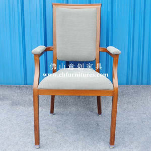 Imitated Wood Chair with Comfortable Thick Armrest (YC-E65-04) pictures & photos