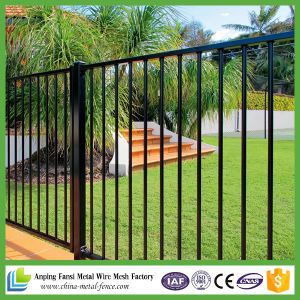 Low Price Security Ornamental Garden Fence with Gate pictures & photos