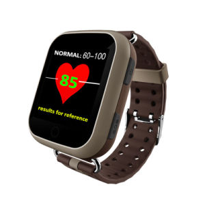 Colorful Touch Screen Elderly GPS Tracker Watch with Heart Rate Monitor D28 pictures & photos