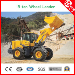 Zl50 High Efficiency 5 Ton Wheel Loader with Fork (5000kg) pictures & photos