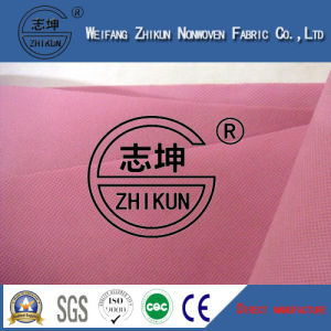 Pink PP Nonwoven Fabric for Supermarket Shopping Bags