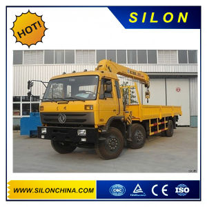 14t Hydraulic Telescipic Kunckle Boom Truck Mounted Crane for Sale pictures & photos