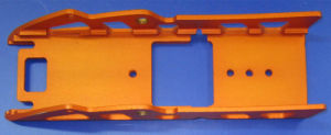 Laser Cutting Parts Sleigh Sheet Bending Part Metal Plate pictures & photos