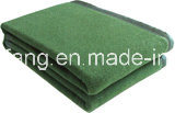 100%Polyester Woven Military Blanket pictures & photos