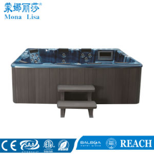 European Style 8-9 People Use Acrylic SPA Hot Tub (M-3320) pictures & photos