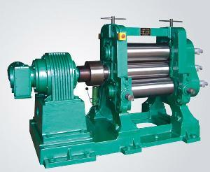 Three Rollers Rubber Calender Machine