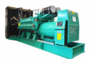 Electric Machine Equipment Silent 1875kVA 1500kw Power Generator Set pictures & photos