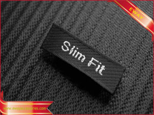 Custom Printingwoven Label Fabric Label Clothing Label for Garment pictures & photos