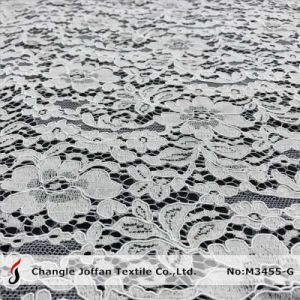 Thick Cord French Lace for Wedding Dresses (M3455-G) pictures & photos