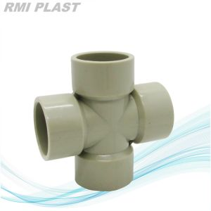 Pph Cross PP Pipe Fitting pictures & photos