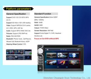 Car Multimedia Player with GPS Navigator pictures & photos