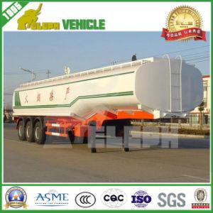 3 Axle 45000L Fuel Tank Truck Trailer pictures & photos