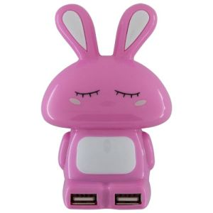 Rabbit Shape USB 2.0 Hub 4 Ports pictures & photos