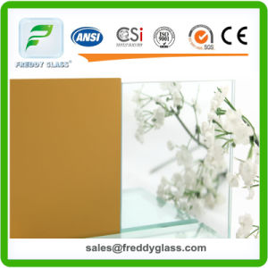 3mm Silver Mirror Mirror with Yellow Back/ Copper Free Mirror/Lead Free Mirror/Safety Mirror pictures & photos