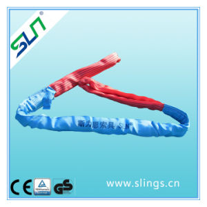 8t*8m Polyester Double Eye Round Sling Safety Factor 5: 1 pictures & photos