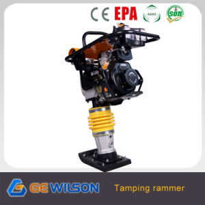 Hot Sale Tamping Rammer with Yellow Bellow Parts pictures & photos