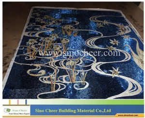 Crystal Glass Mosaic Mural Art Tile pictures & photos