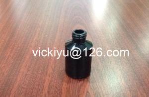 100ml Black Glass Serum Bottles, Essential Oil Bottles, Black Series of Glass Lotion Bottles, pictures & photos