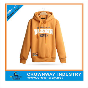 CVC Fleece Hoodies Men Wholesale Sweatshirt, Xxxxl Hoodies pictures & photos