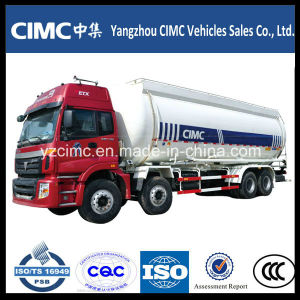 Foton 8X4 Bulk Cement Tank Truck /Powder Tank Truck Cement Transport Tank Truck pictures & photos