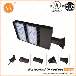 UL Dlc Approved IP65 LED Shoe Box Light 300W pictures & photos