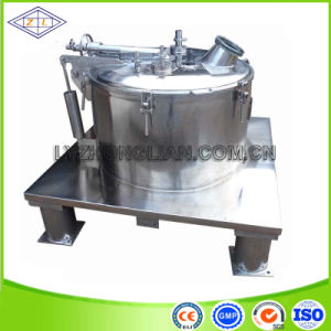 Stainless Steel Manually Discharge Plate Sedimentation Centrifuge Machine pictures & photos