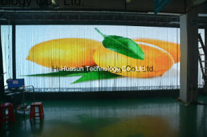 Transparent Soft LED Curtain Display for Window Installaion pictures & photos